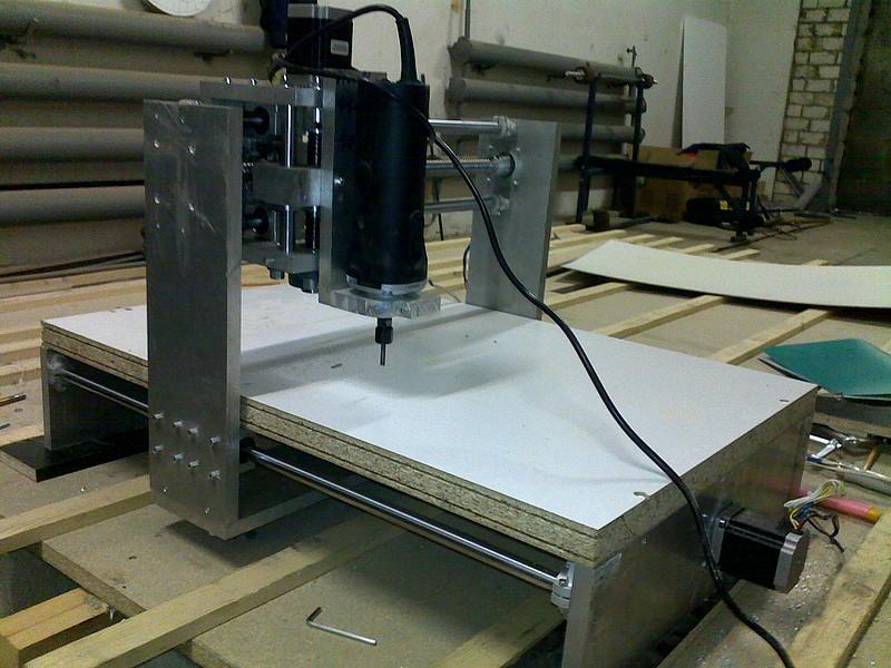 Фрезерный станок с чпу по дереву своими руками из принтера 99
