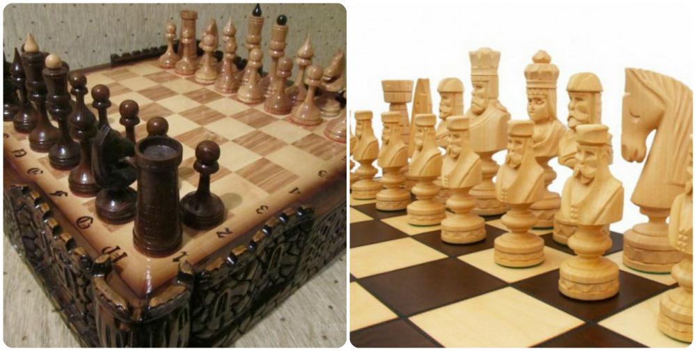 Сделать шахматы из дерева своими руками 77