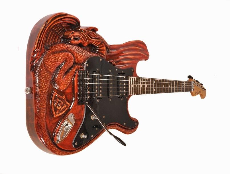Гитара ручной работы на заказ